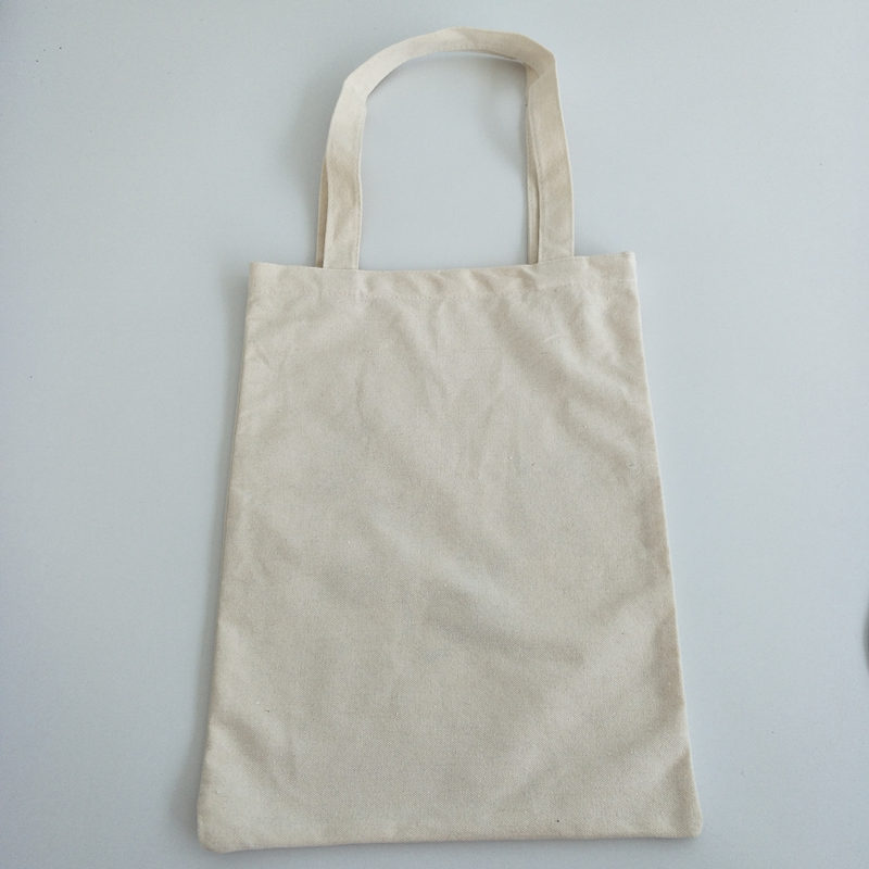 Factory direct 10oz cotton promotional shopping tote bag